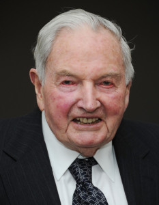 David Rockefeller. Photo by Jason Kempin /Getty Images