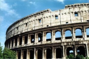 The Colosseum in Rome, AA 1999