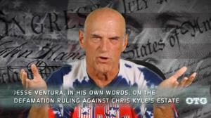 "Jesse Ventura speaks out on his ""Off The Grid"" web show. (http://www.ora.tv/offthegrid)"