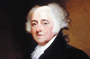 John Adams by Gilbert Stuart, 1800