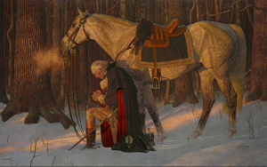 Prayer at Valley Forge, Arnold Friberg 1999