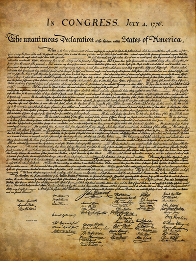 the history of the declaration of independence in usa Independence day, also referred to as the fourth of july or july fourth, is a federal holiday in the united states commemorating the adoption of the declaration of independence on july 4, 1776.