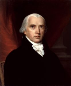 James Madison, by John Vanderlyn